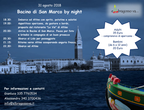 San Marco by night – 31 agosto 2018